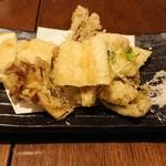 kyuushuuizakayaicchoumeichibanchi - 舞茸と穴子の天ぷら