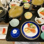 洞爺観光ホテル - 料理写真:夕食