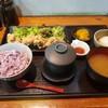 まるみ食堂 - 料理写真:鶏の竜田揚げおろしポン酢定食