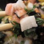 千穂 - 具が細か過ぎて、炒飯みたいにスプーンで食べたい