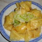 中国ラーメン揚州商人 - 皿蝦ワンタン