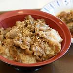 すき家 - 牛カルビ焼丼