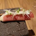 118051611 - 二皿め 秋刀魚と生ハム