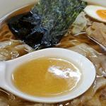 川越大勝軒 - スープ