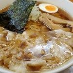 川越大勝軒 - 料理写真:ワンタン麺(中盛)