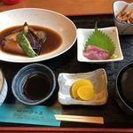 旬菜和処 さやま - 料理写真:銀鱈煮付け定食 ¥1,150-
