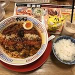 スパイス食堂サワキチ - 麻辣麻婆麺950円(税込)  ※頭上からバージョン