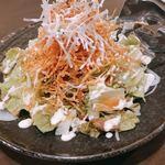 118056608 - 居酒屋サラダではここのとびっこ入りのサラダが一番好き