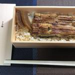 日本橋 伊勢定 - 添えの漬物はなぜか奈良漬け。