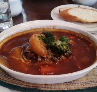 サー・トーマス・リプトン ティーハウス店 - 煮込みハンバーグ