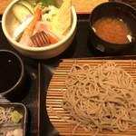 炭焼 基 - 料理写真:ミニ海鮮丼セット