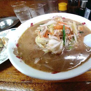 らーめん 蝦夷 - 料理写真:味噌ラーメン大盛り