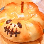 ラ・プリムール - 料理写真:ハロウィン限定かぼちゃパン