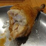 串まん - 鶏断面