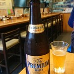 串まん - 中瓶ビール 500円