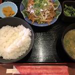 目利きの銀次 - 牛スタミナ焼定食