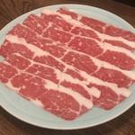馬春楼 - 桜メイン料理:桜鍋(すき焼き)