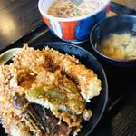 砂場 - 料理写真:ランチ 天丼セット