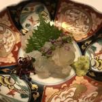御宿 竹林亭 - 料理写真:伊勢海老の刺身