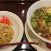 小浜麺食堂 桜花亭 - 料理写真:ラーメンセット