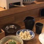 かっちゃんの大衆酒場ザスタンド - やみつきマカロニサラダ(カレー味)