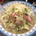 井手ちゃんぽん - ちゃんぽん麺大盛