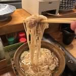 かっちゃんの大衆酒場ザスタンド - 麺アップ