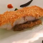 ラ・レゾナンス - 金目鯛のアーモンド焼き
