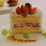 ラ・レゾナンス - 特製セレモニーケーキ