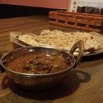 インド食堂ビジエさんのカリー屋1丁目 - マトンカレー&プラタ