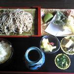菜の花亭 そば処 - 料理写真:そば定食850円