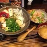 11808847 - 2012/02 日替わり 漁師まかない丼 890円