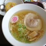 ベイシア - 料理写真:佐野ラーメンセット税込500円