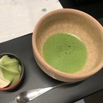 ろんぢん - ソフトクリームと抹茶