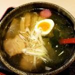 チャイニーズキッチン味彩 - 料理写真:函館塩ラーメン 750円