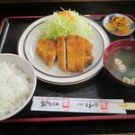 118088207 - ロースカツ定食(並)