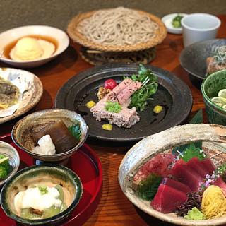 充実した和食ベースの料理