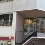 Ristorante Carlotta - お店は二階にあります