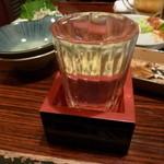 酒蔵 駒忠 - 鳳凰美田だった気がする。580~680円ぐらい。