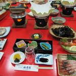 山幸園 - 料理写真:会席料理