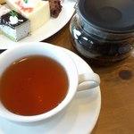 CAFE風 - ポットで紅茶 アールグレイ