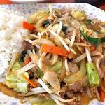 新潟大学生活協同組合 第3食堂  - 野菜炒めランチ