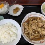 118093270 - ランチ:生姜焼き定食¥800位
