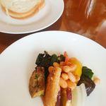 デル ペッシェ - ランチ前菜とパン