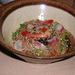 日々飯菜 ひきだし - ブリと海鮮の漬け丼