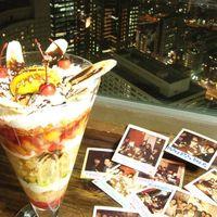 アジアンキッチン - 誕生日・記念日にBIGパフェ