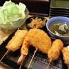 菊井 - 料理写真:5本セットとお通し