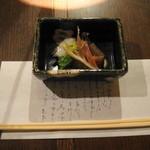 懐石料理 他人吉 - 酢の物