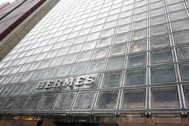 ピュイフォルカ シャンパンバー HERMES 銀座店 - 外観です