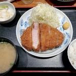 118102303 - 厳選特上ロースカツ(180g)定食(¥1,980)